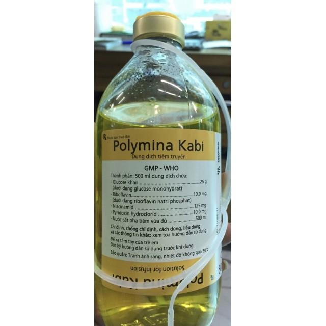 Polymina Kabi 500Ml thùng 12 chai (Tên thuốc gốc: Dextrose)