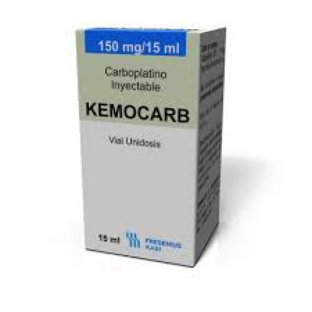 KEMOCARB Inj 150/15 ml H/1 lo