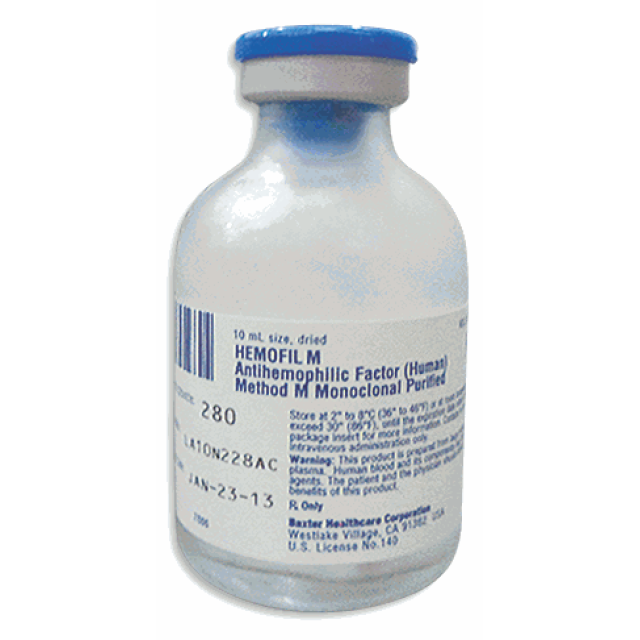 Hemofil M 220-400 IU H/1 Lọ thuốc cầm máu