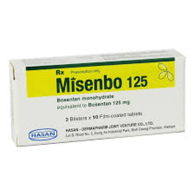 Misenbo 62.5 Mg H/30 viên