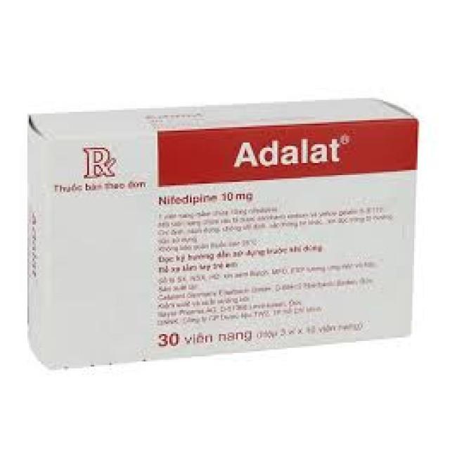 Adalat Capsule 10 mg H/30 v
