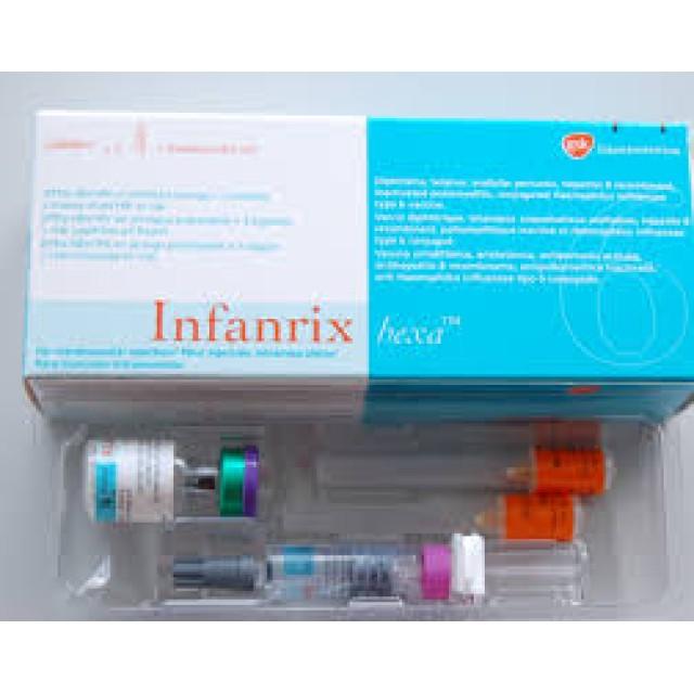 Vắc xin 6 trong 1 Infanrix Hexa