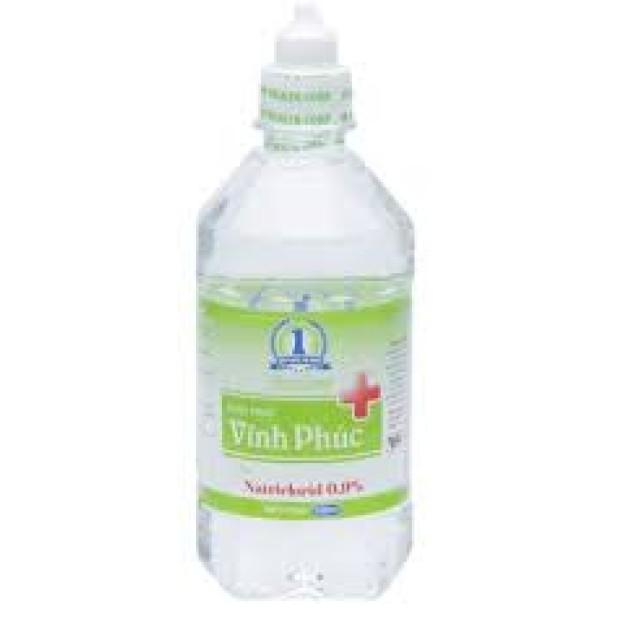 Nước muối sinh lý Vĩnh Phúc NACl 0.9% (500ml)