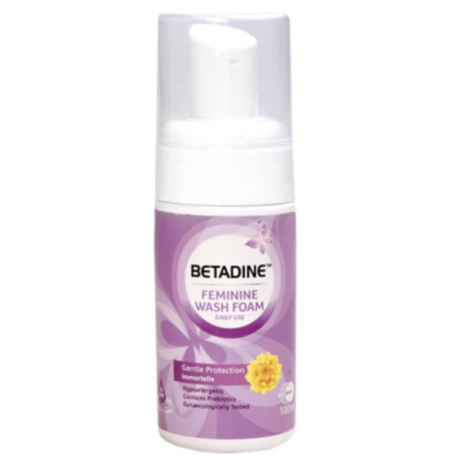 Betadine FW FOAM Gentle Protection (100ml) Bọt vệ sinh phụ nữ