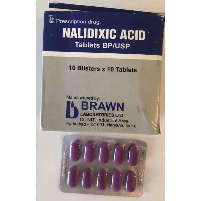Nalidixic 500mg H/100 viên ( Ấn Độ)