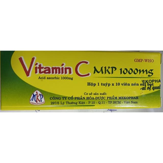 Vitamin C 1000 mg MKP T/10 viên