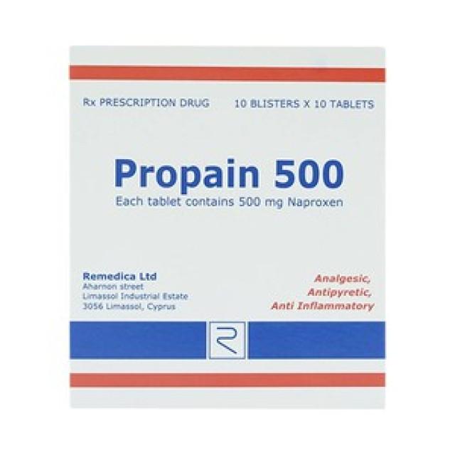 Propain 500 mg Remedica H/100 v