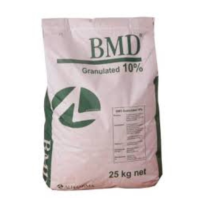 BMD Granulated 10% Túi/25 kg