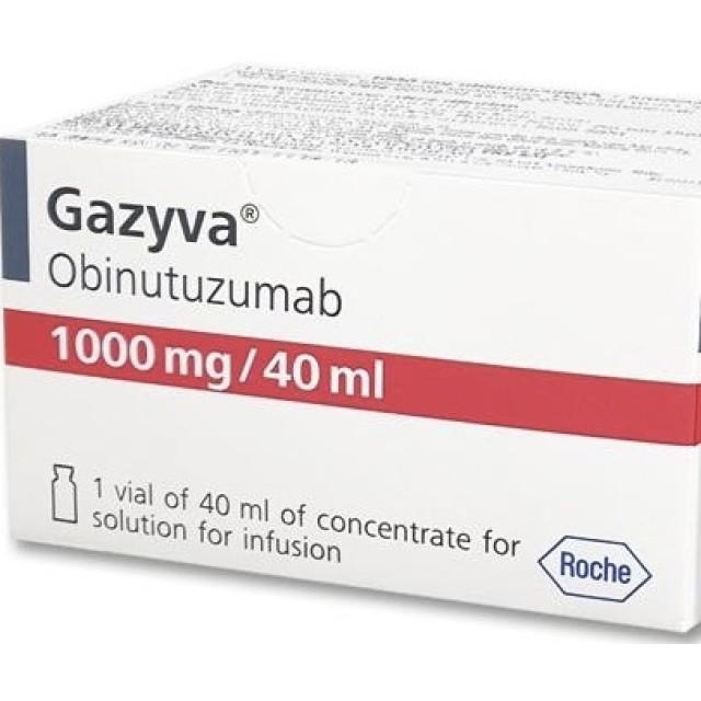 Gazyva 1000mg /40ml H/1 lọ