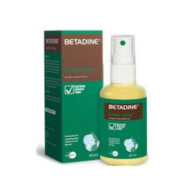 BETADINE Throat Spray Xịt họng 50 ml