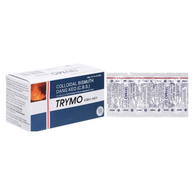 Trymo 120mg H/112 viên ( trị viêm loét dạ dày, tá tràng, khó tiêu)