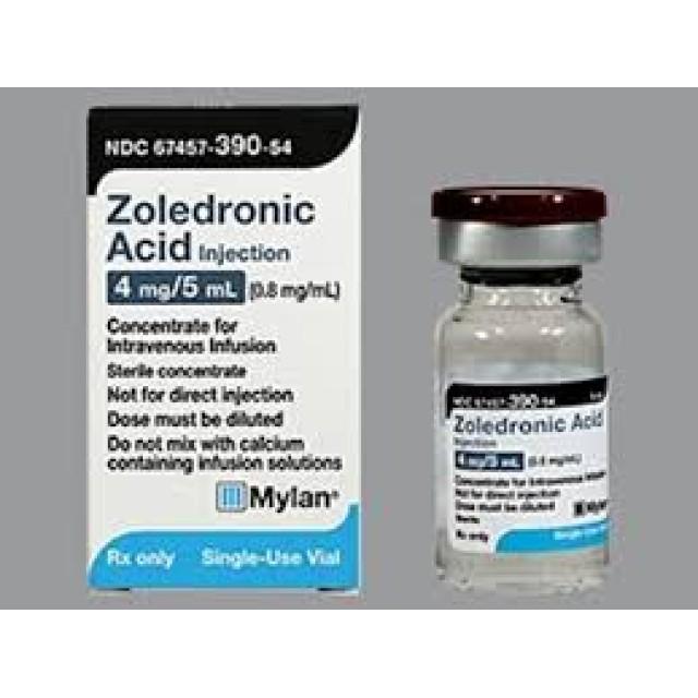 Zoledronic Acid Hospira 4mg/5ml