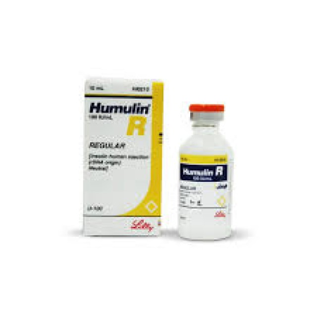 HUMULIN R (REGULAR ) INJ 100IU 10ML