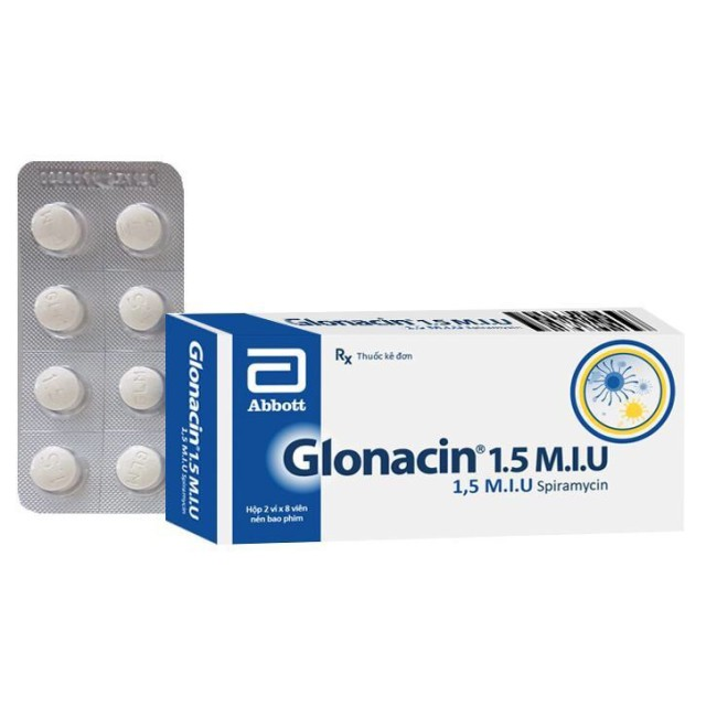 Glonacin 1.5 M.I.U H/16 viên