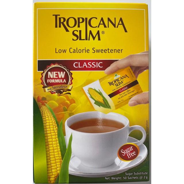 Đường Bắp Ăn Kiêng Tropicana Slim Classic H/50 Gói 2g