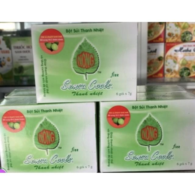 Sensa Cools Bột sủi thanh nhiệt giải giải độc gan (H/ 6 gói 6g)
