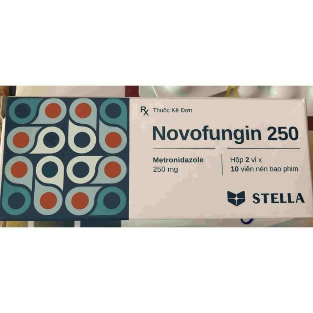 Novofungi 250mg ( Metronidazol 250 stada) H/20 viên