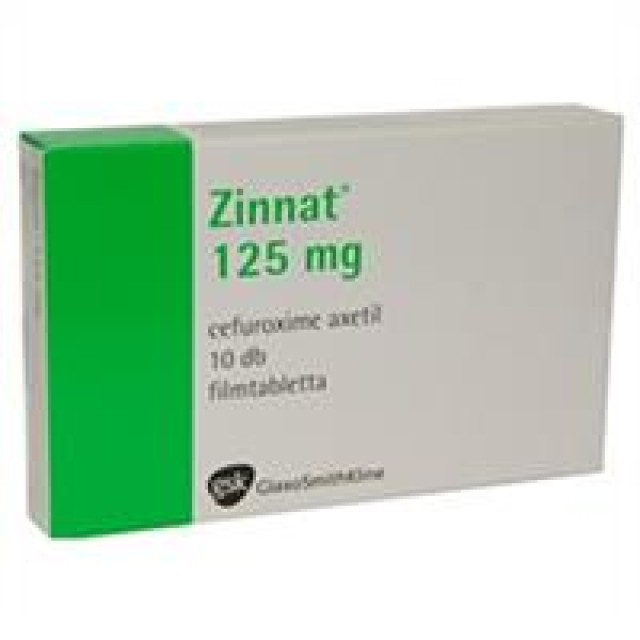 Zinnat 125 Mg H/10 v