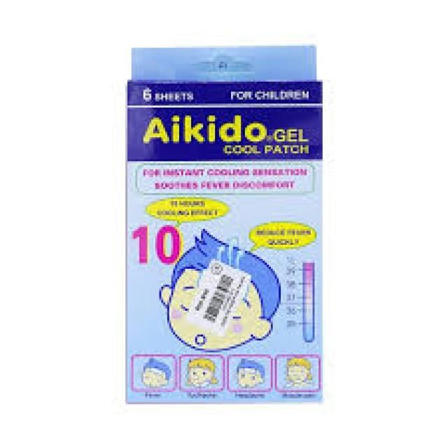 Miếng dán Aikido - Hạ sốt, ngăn ngừa các cơn co giật ở trẻ