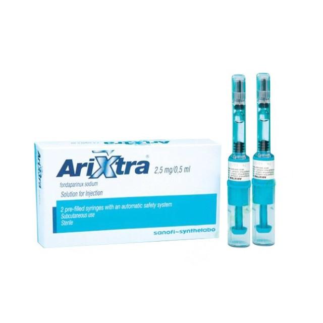 ARIXTRA 2.5MG/0.5ML H/10 bom tiêm