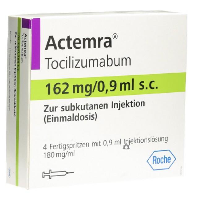 ACTEMRA 162MG/0.9ML