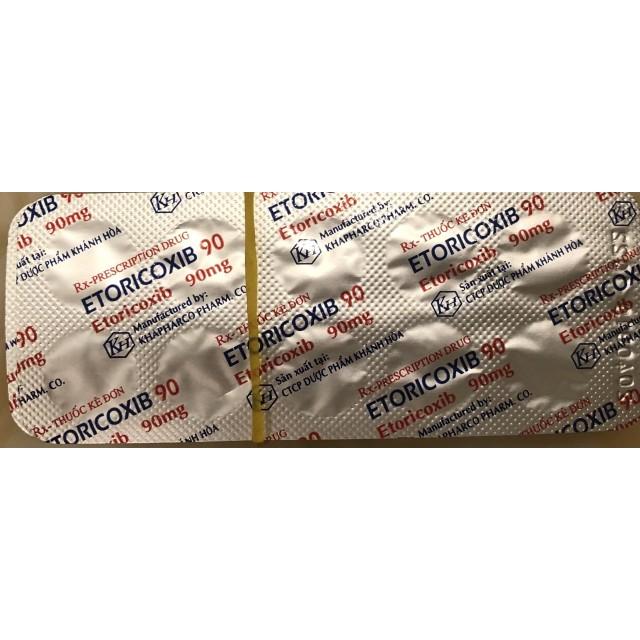 Etoricoxib 90 Mg H/30 viên