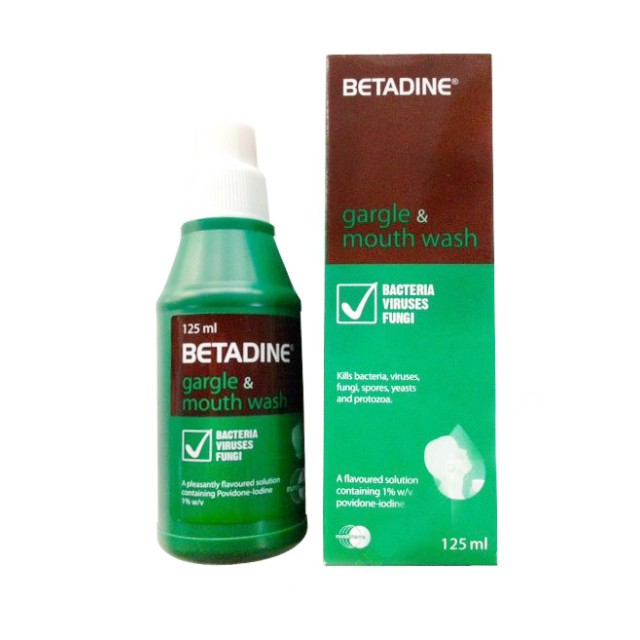 BETADINE 10% 125ML