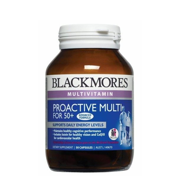 BLACK MORES PROACTIVE MULTI FOR 50+