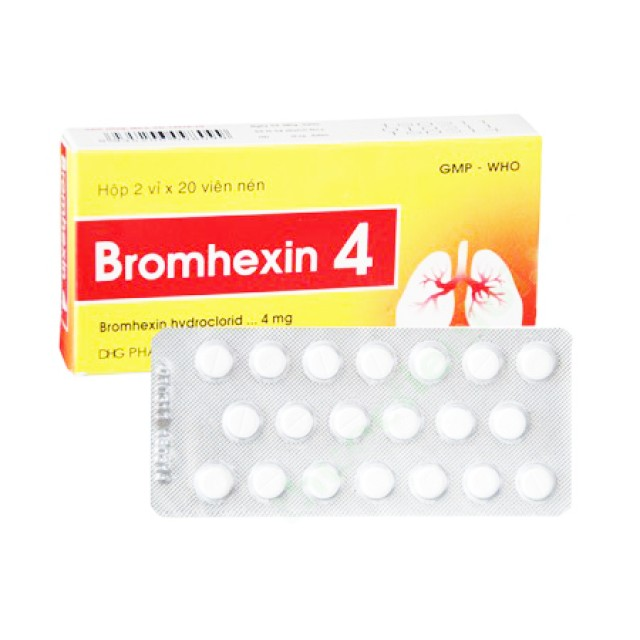 BROMHEXIN 4 MG