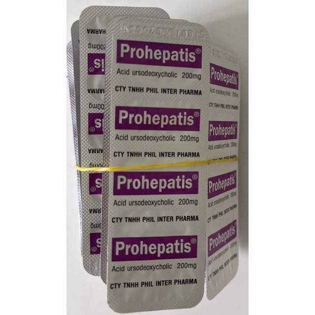 PROHEPATIS 200 mg H/100 viên ( điều trị sỏi mật)
