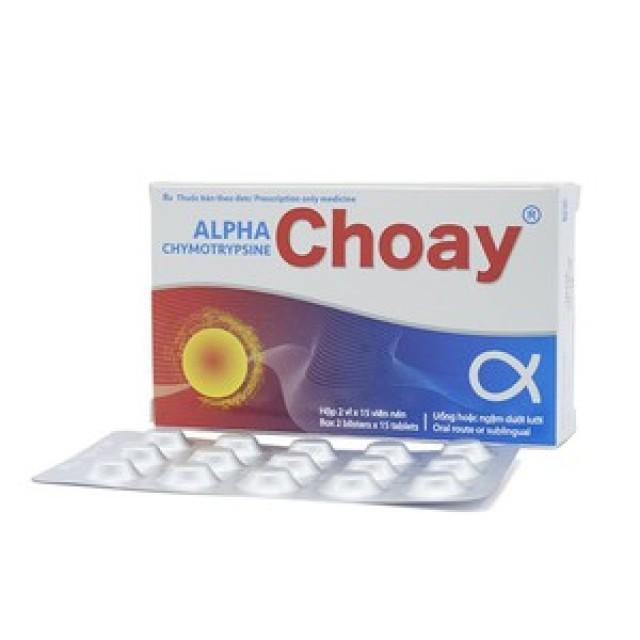 ALPHACHYMOTRYPSINE CHOAY H/40 v
