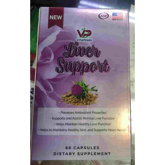 Liver Support  H/60 viên Capsules Giúp thải độc gan , bảo vệ gan