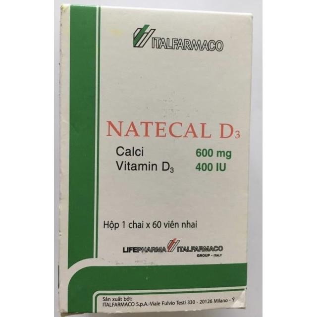 Natecal D3 H/60 viên nhai