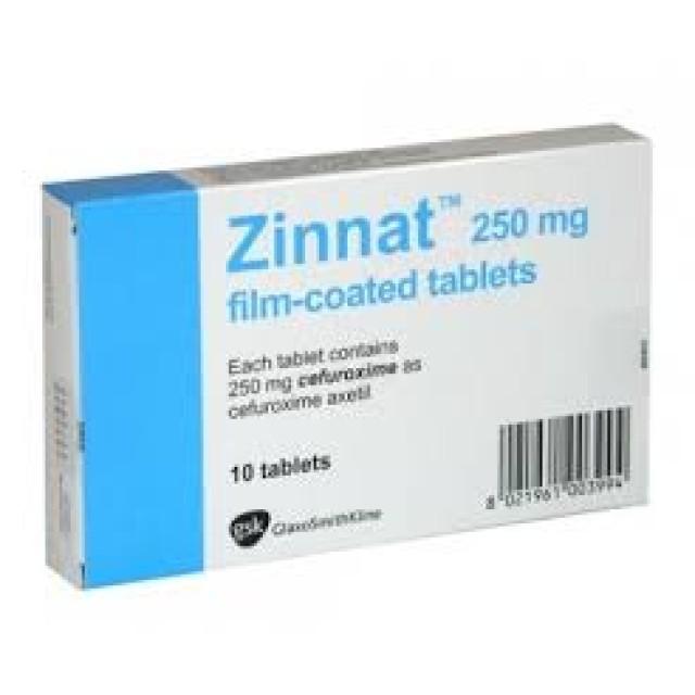 Zinnat 250 mg