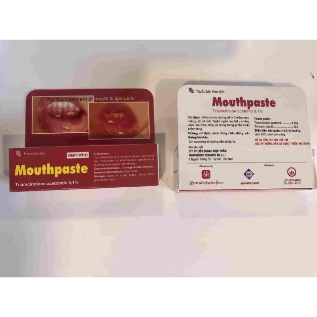 MOUNTHPASTE type 5 g