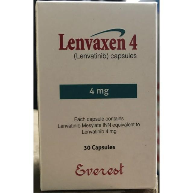 Lenvaxen 4mg H/30 viên thuốc trị ung thư tuyến giáp
