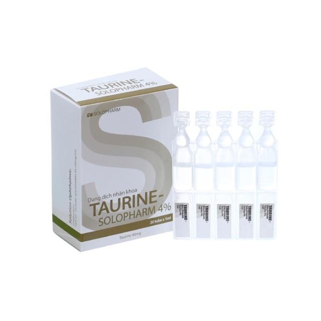 Taurine - Solopharm 4% (Thuốc nhỏ mắt trị Bệnh đục thủy tinh thể)