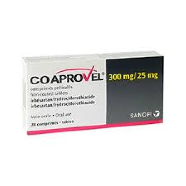 COAPROVEL 300/25MG H/28 v