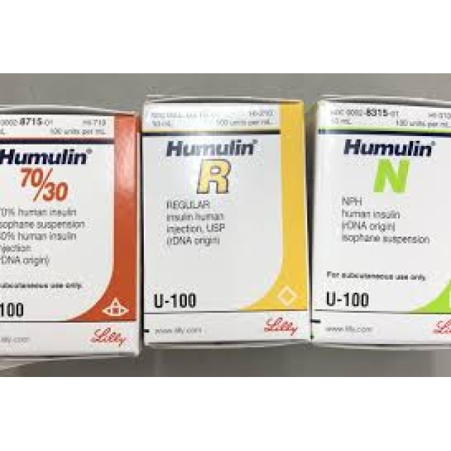 HUMULIN 70/30 INJ 100IU 10ML H/1 lo