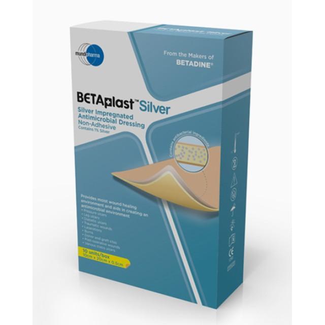 Betaplast Silver ( 5x20x20) H/10 miếng gạc dán chống nhiễm khuẩn vết thương