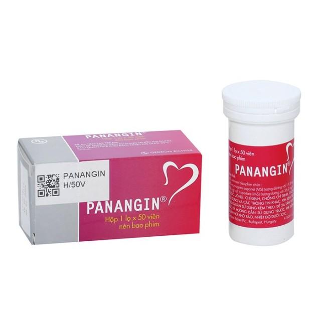 Panangin H/50 viên (Thuốc trị suy tim)