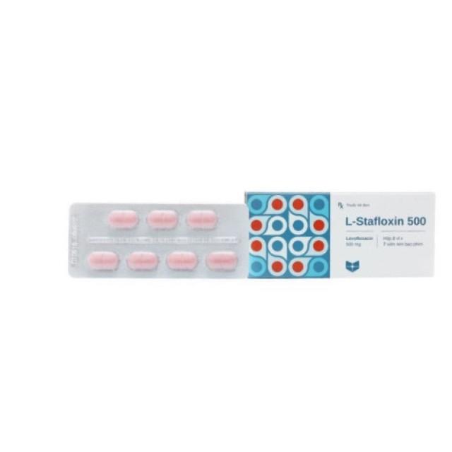 L-Stafloxin 500mg hộp 14 viên