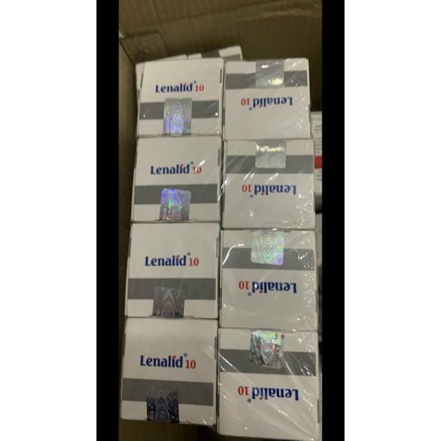 Lenalid 10mg H/30 viên ( trị đa u tủy và điều trị bệnh bạch cầu lypho mãn tính)