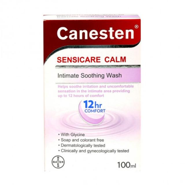 Canesten Sensicare Calm (100ml) Nước rửa phụ khoa dịu nhẹ