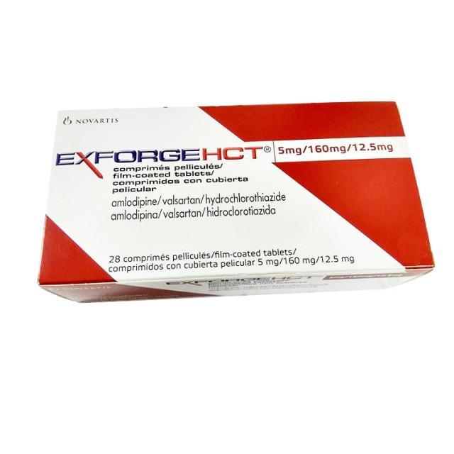 EXFORGE HCT 5MG/160MG/12.5MG