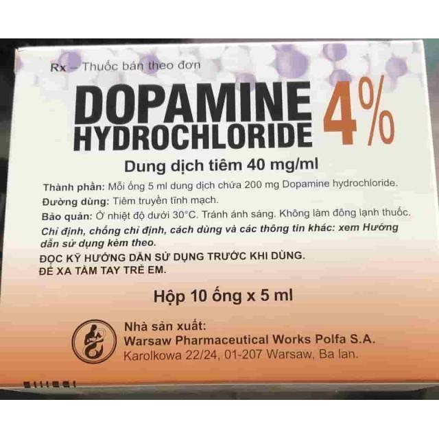 Dopamine 40mg/ml H/10 ống