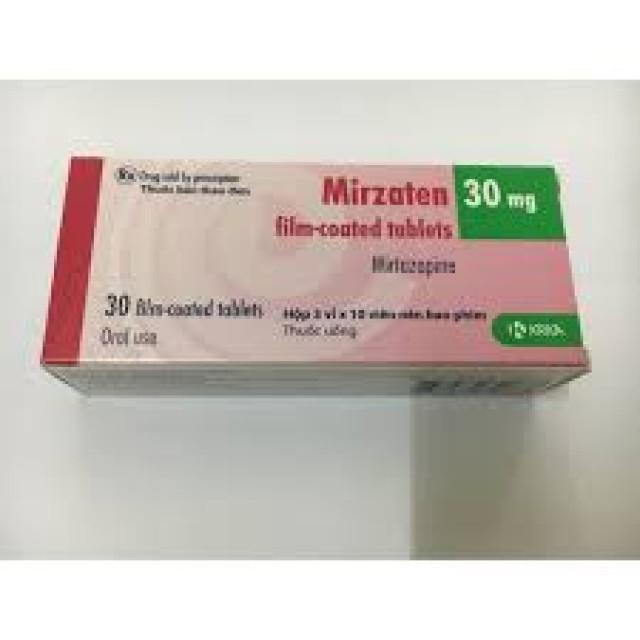 Mirzaten 30mg H/30 viên
