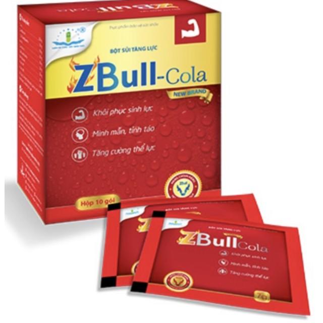 ZBULL Cola  H/10 gói