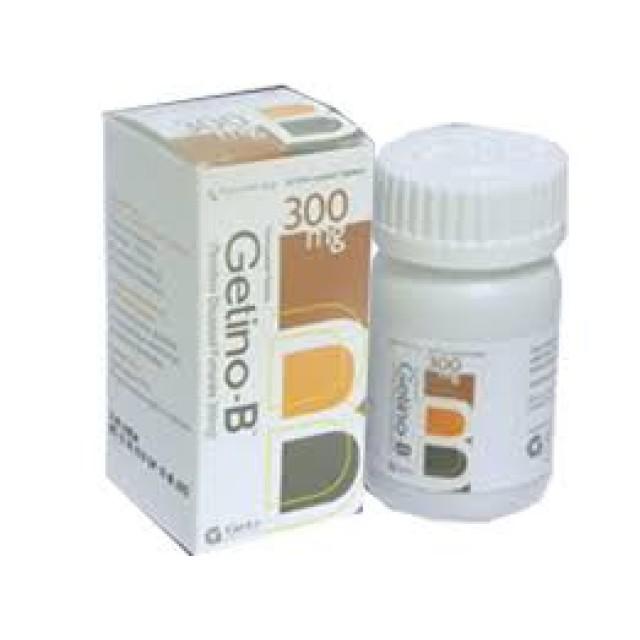 GETINO-B 300 mg H/30 viên( kiểm soát nhiễm HIV. Viêm gan B)