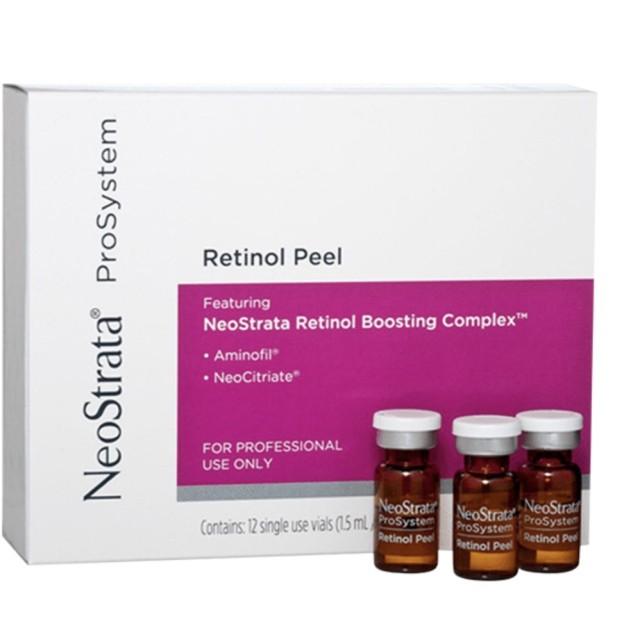 NeoStrata ProSystem Retinol Peel H/12 ống 1,5 ml ( Peel da giảm nếp nhăn sạm da)